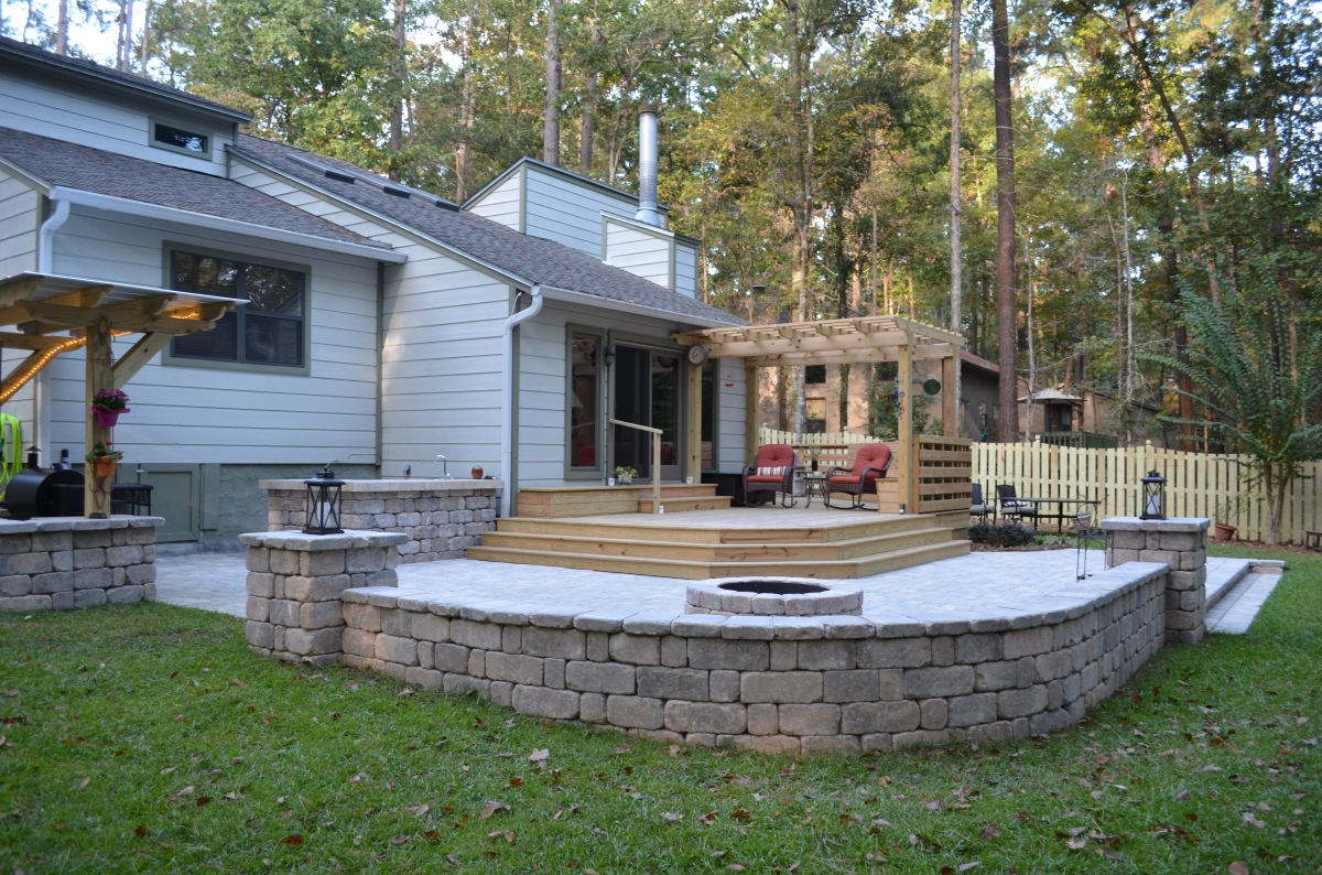 ... decks of all shapes and sizes. We work with each customer to figure out  the right deck for them; from wrap arounds to cozy corner decks, we do it  all. - Decks Gazebos And Pergolas - Fielder And Associates
